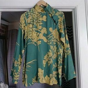 Max Mara silk blouse size L